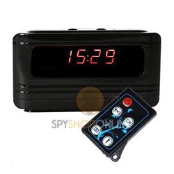 Spy Alarm Table Clock Camera HD - Wide Angle