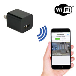 1080P HD USB Wall Charger Camera
