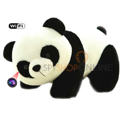 Spy Teddy Bear Mini DV WiFi HD Hidden Camera