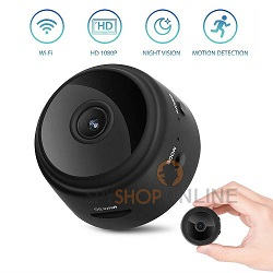 Portable Magnetic WiFi Security DVR Spy Camera