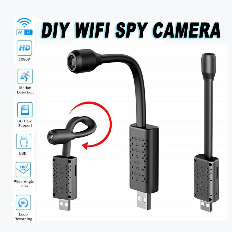 USB Covert Spy Camera with Motion Detection