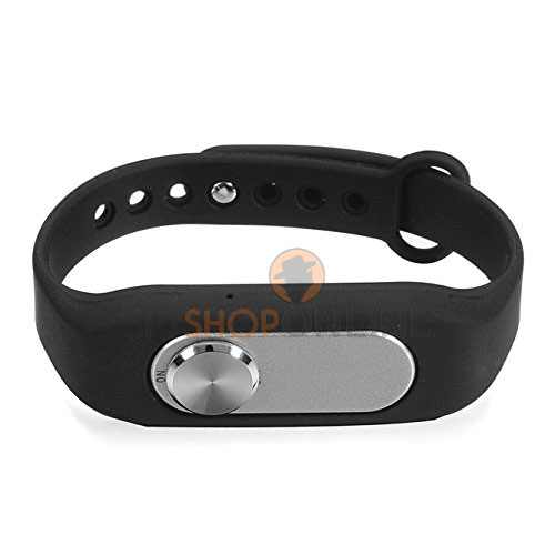 New 8GB Fashion Wearable Wristband Portable Digital Sports Bracelet Voice Recorder