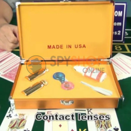 Infrared Spy Contact Lenses for Invisible Marked Playing Cards