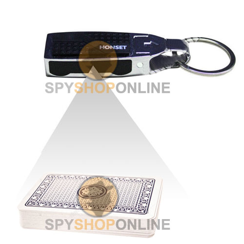 Key Chain Infrared Poker Scanner Camera for Playing Cards Analyser