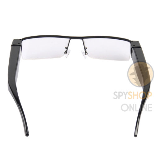 Spy Fashion Eyewear Glasses Hidden Camera HD 1080p Full HD