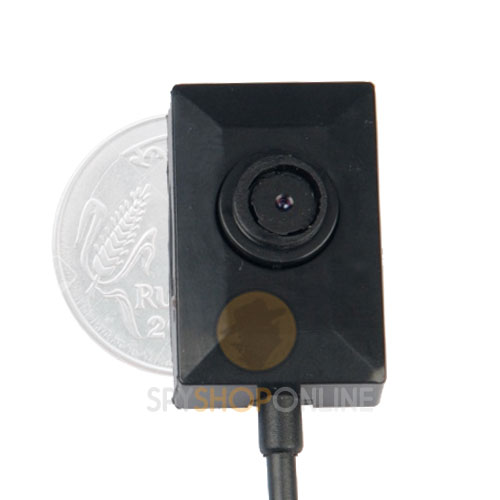 Spy Mini Button Hidden Camera with Long Time Recording with Cable 2M