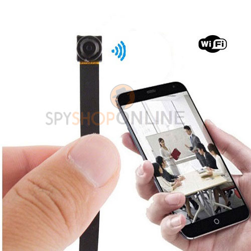 Original P2P wifi spy wireless Pinhole button HD camera