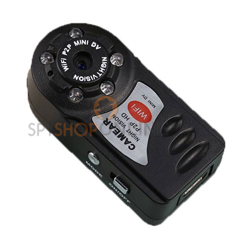 Spy Mini DV P2P WiFi Secret Pinhole button camera Night Vision