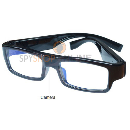 Spy 1080P HD Hidden Camera Eyewear Glasses Mini DVR Audio Video Recorder