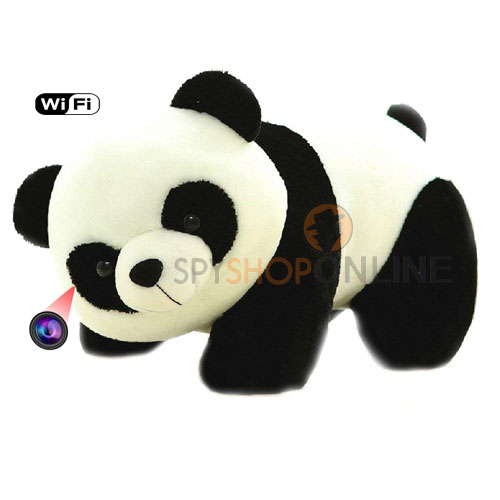 Spy HD 1080P Teddy Bear Mini DV P2P WiFi Hidden Camera