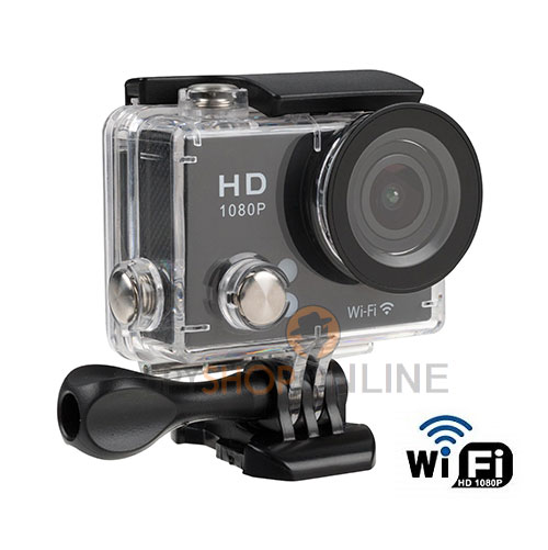 Full HD P2P WiFi Sports Action Camera 30M Waterproof Camcorders Helmet sport DV 2 Inch Mini LCD Screen