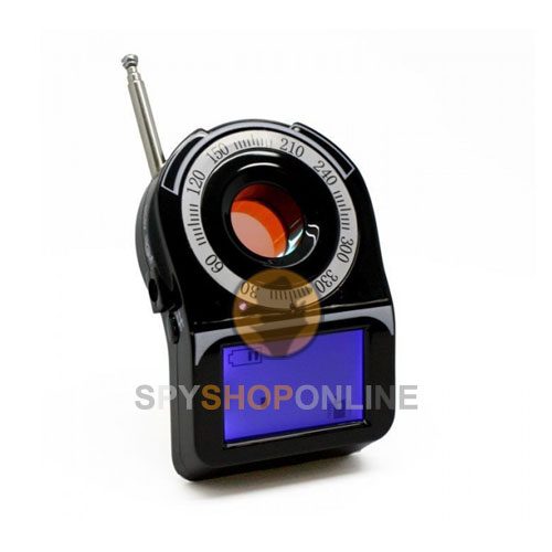 Camera Lens Finder with RF Bug Detector